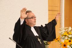 Bischof Michael Chalupka in der Lukaskirche Leonding