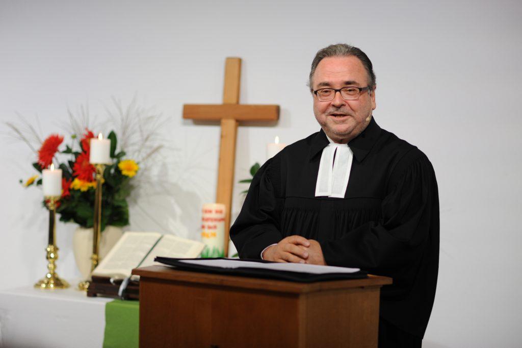 Bischof Michael Chalupka Foto: epd/Uschmann
